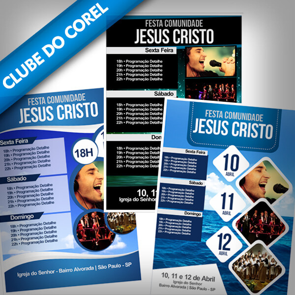 Cartaz-Festa-Igreja-Pronto-para-Editar-e-Imprimir-CorelDRAW