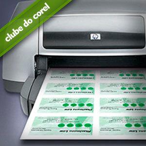 Como Imprimir Cartão de Visita