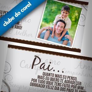 Caneca Personalizada Dia dos Pais - Clube do Corel