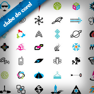 Modelos logos vetorizadas em coreldraw clube do corel for Editor de logotipos