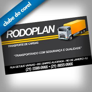 Cartão de Visita Transportadora - Clube do Corel