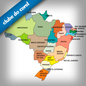 mapa brasil vetor free download