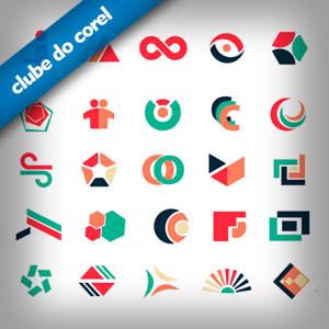 Modelos de Logotipos Grátis - Clube do Corel