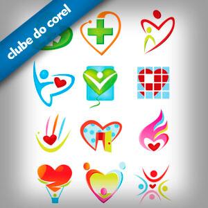 Logotipo Saúde Grátis - Clube do Corel