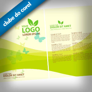 Panfleto Ecológico (Verde) - Clube do Corel