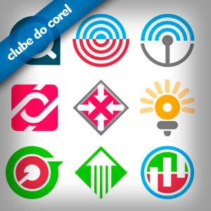 9 Modelos Logo Vetorizados - Clube do Corel