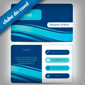 Cartão de Visita - Designer Gráfico - Clube do Corel