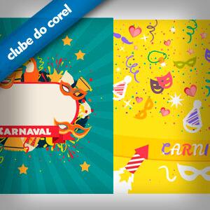 Vetores Carnaval - Clube do Corel
