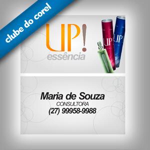 Cartão de Visita UP Essência - Clube do Corel