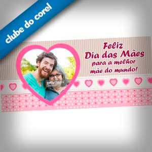 Caneca Personalizada Dia das Mães - Clube do Corel