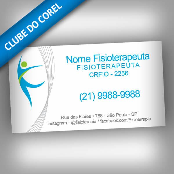 Cartão de Visita Fisioterapia