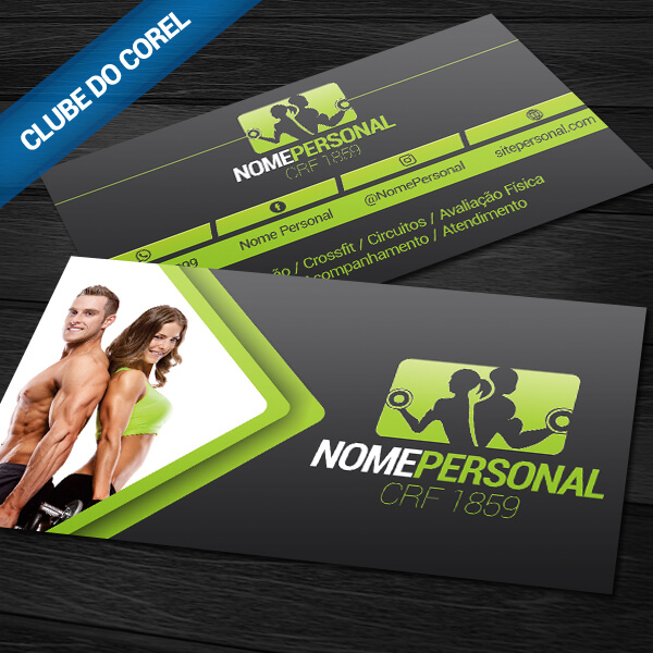 cartao-de-visita-personal-trainer-clube-do-corel