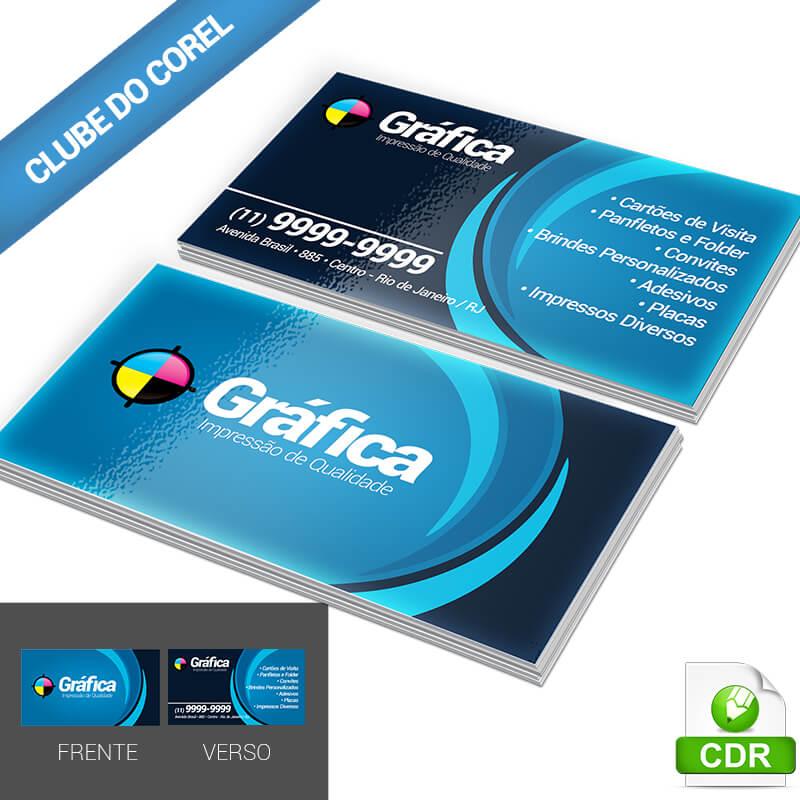 Cartão-de-Visita-Gráfica---Modelo-pronto-Editar-e-Imprimir-CorelDRAW-Clube-do-Corel-imagem