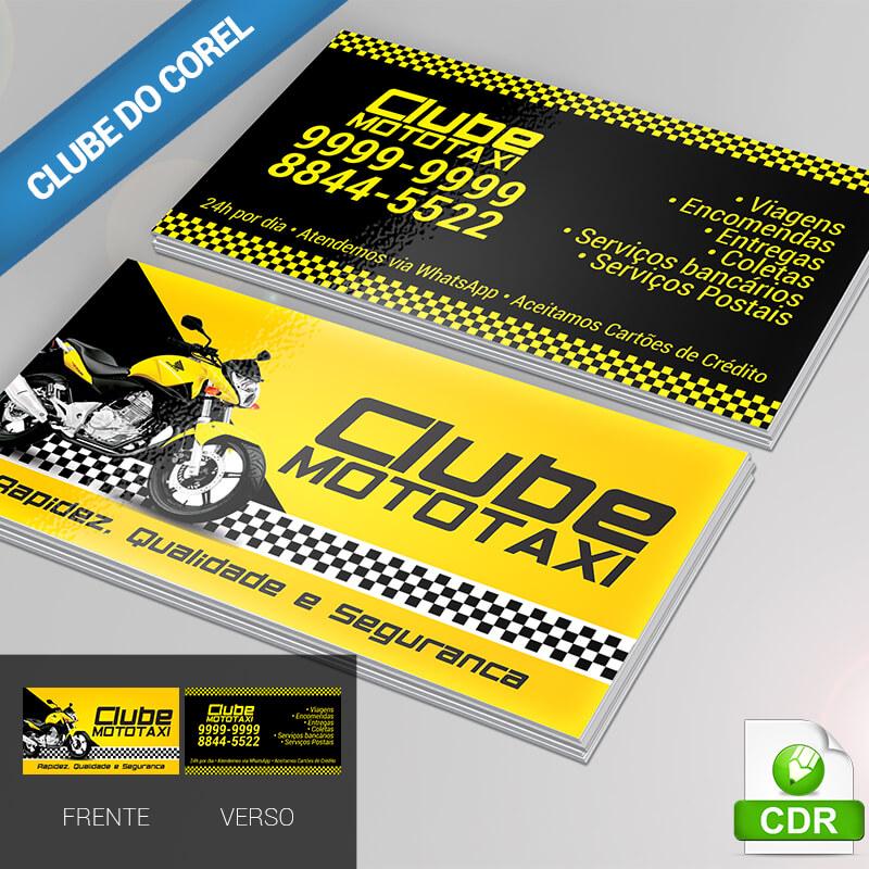Cartão-de-Visita---Moto-Táxi---modelo-pronto-para-editar-e-Imprimir-CorelDRAW-imagem