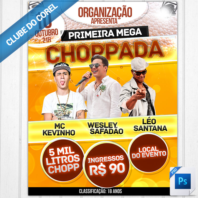 Cartaz-Flyer-Chopada---Modelo-Pronto-PSD-Photoshop-Editar-Clube-do-Corel