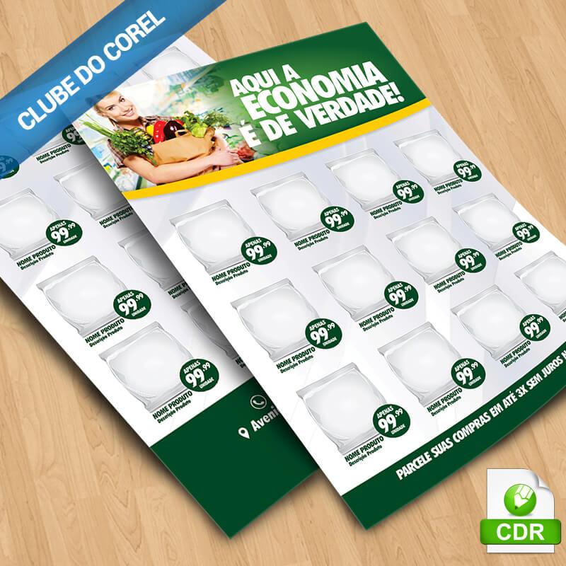Encarte-Supermercado-#01---Modelo-Pronto---Clube-do-Corel