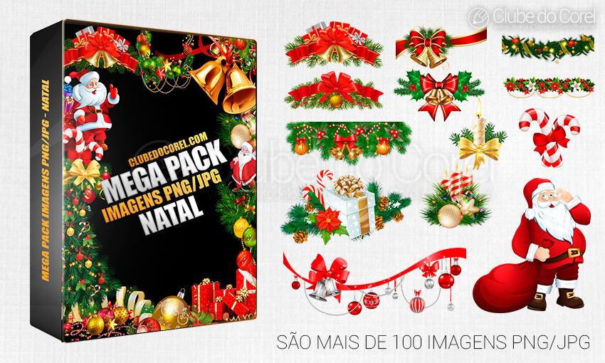 Pack Imagens Natal Pngjpg Clube Do Corel